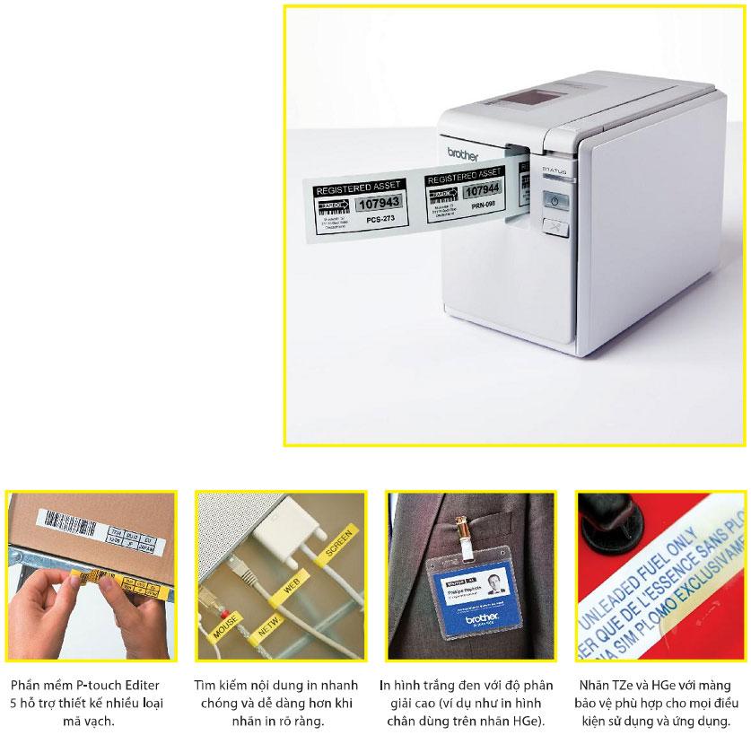Máy in nhãn PT-9700PC