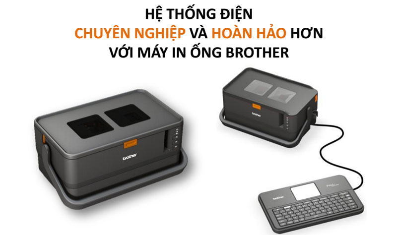 ứng dụng máy in ống brother